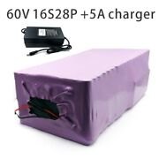With 5a Charger 98ah 60v Battery Electric Bicycle Li-ion Tricycle Customizable