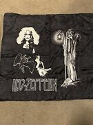 Led Zeppelin 39x39 Fabric Wall Hanging Tapestry Nos