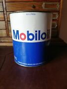 Vintage Mobil Oil Mexican Pemex Oil Empty Tin Can From 80and039s Rare
