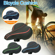 Silicone Gel Extra Softly Bicycle Bike Mtb Saddle Cushion Seat Cover Pad Comfort