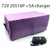 With 5a Charger 56ah 72v Battery Electric Li-ion Tricycle Customizable