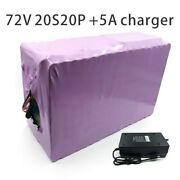With 5a Charger 70ah 72v Battery Electric Li-ion Tricycle Customizable