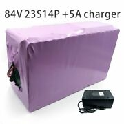 With 5a Charger 49ah 84v Battery Electric Bicycle Li-ion Tricycle Customizable