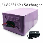 With 5a Charger 56ah 84v Battery Electric Bicycle Li-ion Tricycle Customizable