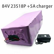 With 5a Charger 63ah 84v Battery Electric Bicycle Li-ion Tricycle Customizable