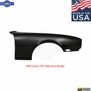 1968 Camaro Rs Rally Sport Front Fender With No Extension - Made In Usa - Rh