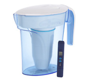 Zerowater® 7 Cup Ready-pour® Filtered Pour-through Water Pitcher