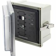Blue Sea Sms Surface Mount System Panel Enclosure - 120/240v Ac/50a Elci Main -