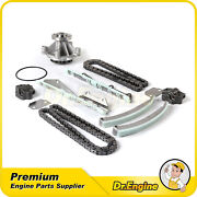 Timing Chain Kit Water Pump Set Fit 2001-2002 Lincoln Town Car 4.6l Sohc