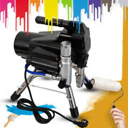 High Pressure Airless Wall Paint Spray Gun All Stainless Steel Suction Pump Body