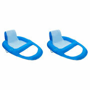 Swimways Xl Spring Float Recliner Water Summer Relaxation Lounge Seat 2 Pack