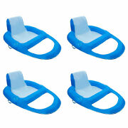 Swimways Xl Spring Float Recliner Water Summer Relaxation Lounge Seat 4 Pack