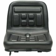 Universal Tractor Seat With Drain Hole Black Durable Replacement Seat Components