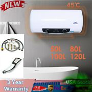 50/80/100/120l Hot Water Heater Instant Tank W/ Shower Kit Home House Bathroom