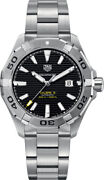 Tag Heuer Aquaracer 300m Calibre 5 Black Dial Menand039s Watch Way2010.ba0927 On Sale