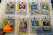 Pokemon Wizards Of The Coast Pack Fresh Holographic Cards Lot