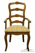 Stanley Furniture Country French Ladderback Dining Arm Chair