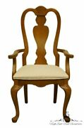 Stanley Furniture Country French Oak Dining Arm Chair