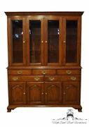 Henkle Harris Solid Wild Black Cherry Traditional Style 61 Buffet W. Lighted...