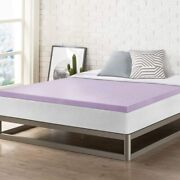 Best Price Mattress 2 Inch Ventilated Memory Foam Topper Mattress Pad With Soot