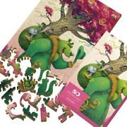 Wooden Puzzle Green Bear 80 Pcs Davici Wooden Jigsaw Puzzles Kids Collection