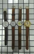 Lot Of 4 Mickey Mouse Bugs Bunny Tweety Looney Tunes Vintage Disney Watches