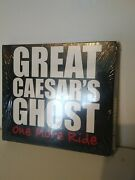 Great Caesars Ghost .one More Ride. Blues.rare Sealed.double Cd. Unmarked.