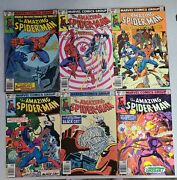 Amazing Spider-man 200201202203204205 Marvel Comic Lot Of 6 Books