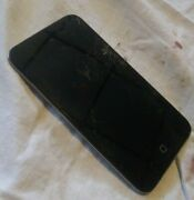 Apple Ipod 4th Generation Touch 8gb Model A1367 Chrome, Cracked Screen Works