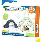 Kids-fort-building-kits-130 Pieces-creative Fort Toy For 567 Years 130pcs