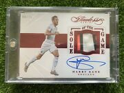 2015-16 Flawless Soccer Harry Kane Sole Of The Game Boot Auto Ruby Red /15
