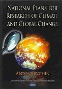 National Plans For Research Of Climate And Global Change English Hardcover Book