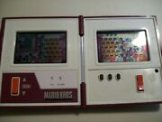 Nintendo 1983 Mario Bros Game And Watch New Batterys Works Great
