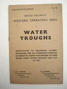 Br Western Water Troughs Instructions To Employees For Alternative Points 1956