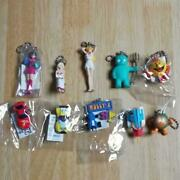 Namco Hall Of Fame Honor Figure Collection Keychain Rare Lot Of 10 Pac-man