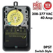 Swimming Pool Pump Filter Outdoor Timer Mechanical Enclosure 24 Hour 40 Amp Dpst
