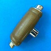 1967-1973 Ford Mustang Mach 1 Tan Original Faux Leather Shifter Handle 3544a