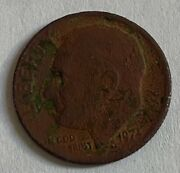 1971 Rosevelt Dime Missing Clad Layer On Both Sides Weights 2.0 Grams