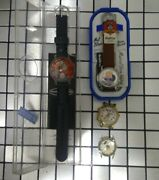 Lot Of 4 Mickey Mouse Looney Tunes Porky Pig Tasmanian Talking Disney Watches