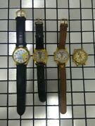 Lot Of 4 Mickey Mouse Talking Tweety Bird Musical Looney Tunes Disney Watches