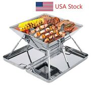 Singes Grill Bbq Outdoor Charcoal Portable Barbecue Steel Stainless Cooking Usa