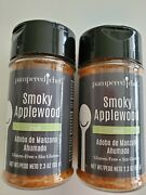 2 Pampered Chef Smoky Applewood Rub Sweet Smoky Flavor Brush With Oil And Add Rub
