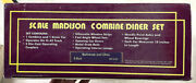 Mth Mt-4101 Baltimore And Ohio Scale Madison Combine/diner Set Mib/new From Estate