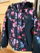 Roxy Waterproof Jacket With Removable Faux Fur Trim
