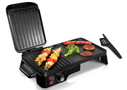 2-in-1 Panini Press Grill Gourmet Sandwich Maker And Griddle Nonstick Coating