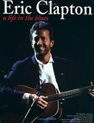 Eric Clapton A Life In The Blues By Music Sales Staff 1995 Trade Paperback