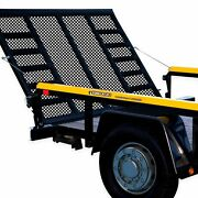 Lift 2 Sided Tailgate Safety Utility Trailer Gate And Ramp Lift Assist System New