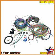 New 21 Circuit Wiring Harness Wire Kit For 1928-1931 Ford Model A Car