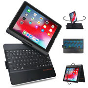 360anddeg Protective Slim Cover With Apple Pencil Holder Backlight Ipad 7 8 Keyboard