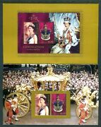 2003 Golden Jubilee Coronation Qeii - Post Office Pack With Stamps And Mini Sheet